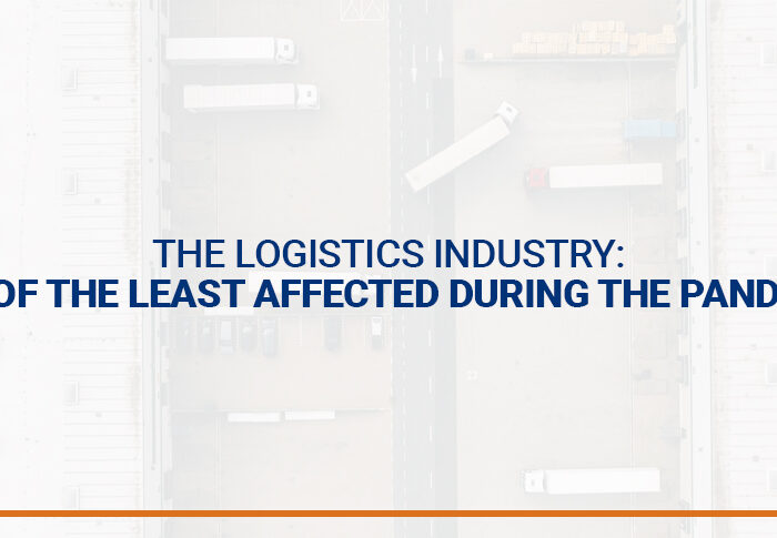 The logistics industry: one of the least affected during the pandemic.