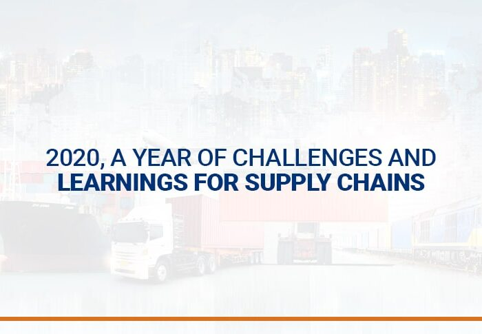 2020, a year of challenges and learnings for supply chains
