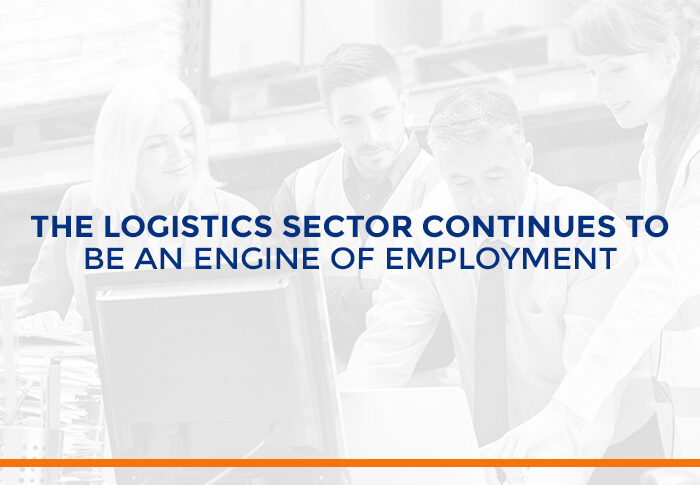 The logistics sector continues to be an engine of employment